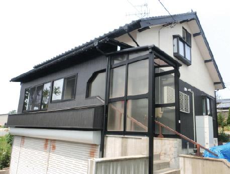 外壁リフォーム 太郎代O様邸